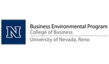 University of Nevada-Reno College of Business Business Environmental Program Logo