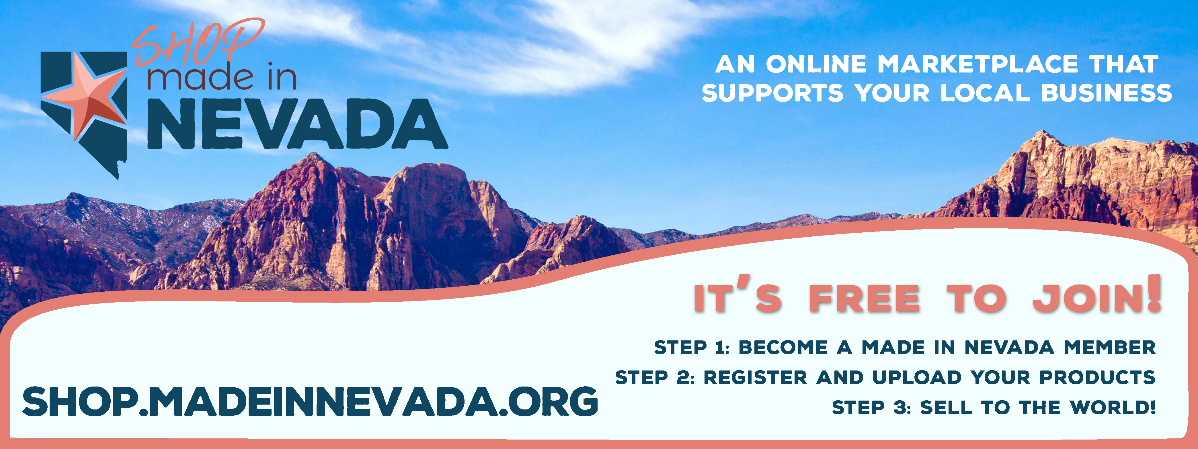 Shop Made in Nevada Banner